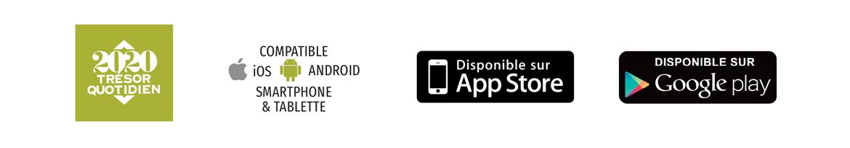Application Trésor Quotidien 2020