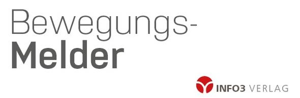 Bewegungsmelder Info3 Verlag