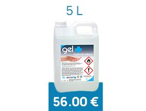 Gel Hydroalcoolique en Bidon 5 L