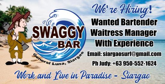 Swaggy Bar Siargao