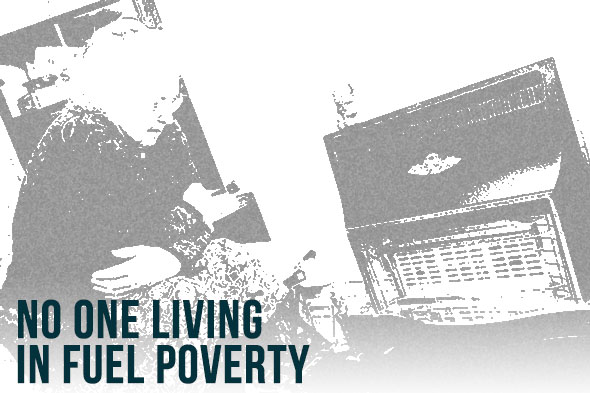 No one living in fuel poverty