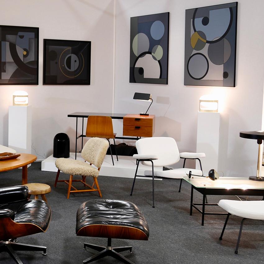 STAND Galerie Fabien Pigio - Les Puces du Design