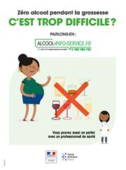 « Zéro alcool pendant la grossesse »