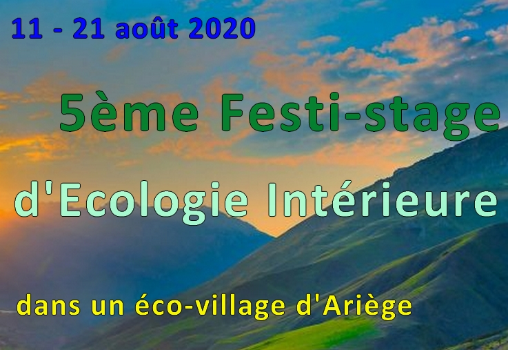 5ème Festi-stage d'écologie intérieure