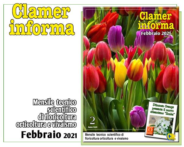 Clamer Informa mensile paperless tecnico scientifico di orto-florovivaismo