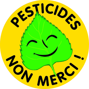 autocollant pesticides non merci !