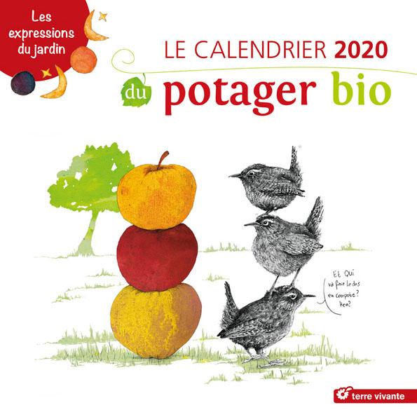 Le calendrier 2020 du potager bio et des fruits et légumes au fil des mois