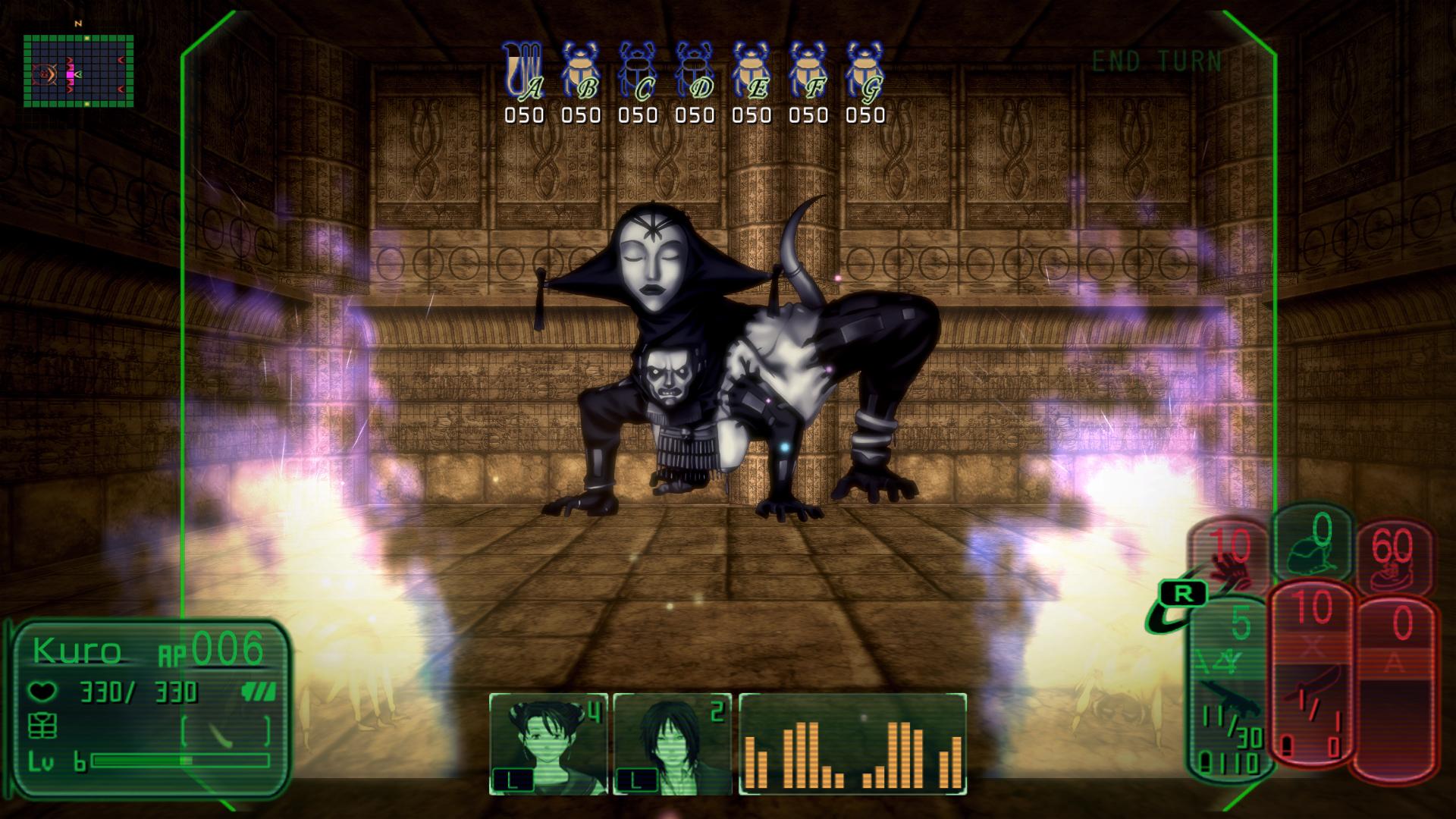 Kowloon High-School Chronicle Dungeon Creature Screenshot