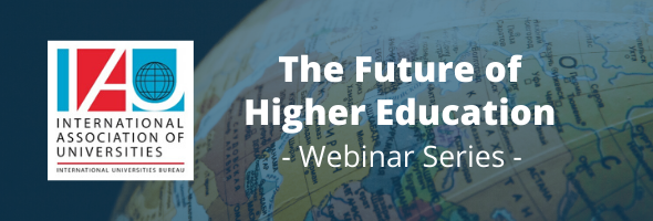 Free IAU webinar the Future of Higher Education