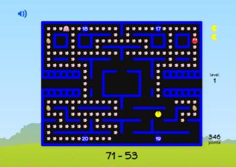 Pacman Math Activity