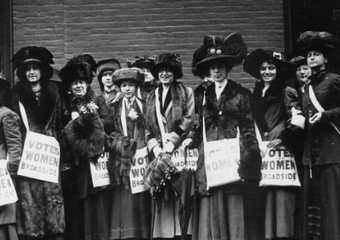 100 Years of Women's Suffrage