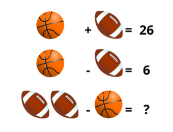 Math Puzzles for Interactive Whiteboard