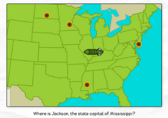 Snake - US States & Capitals