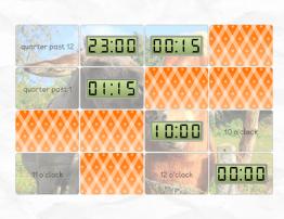 Memory: Digital Clocks