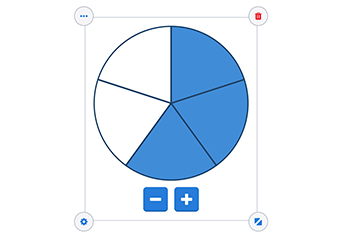 Blog - fraction circle and fraction bar as a widget