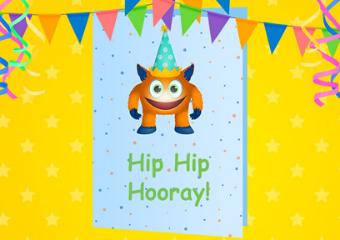 Birthday Card from Gynzy