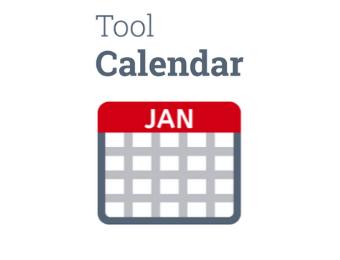 Calendar for Interactive Whiteboard