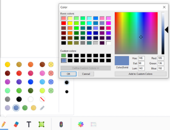 New Color Palette Tool from Gynzy