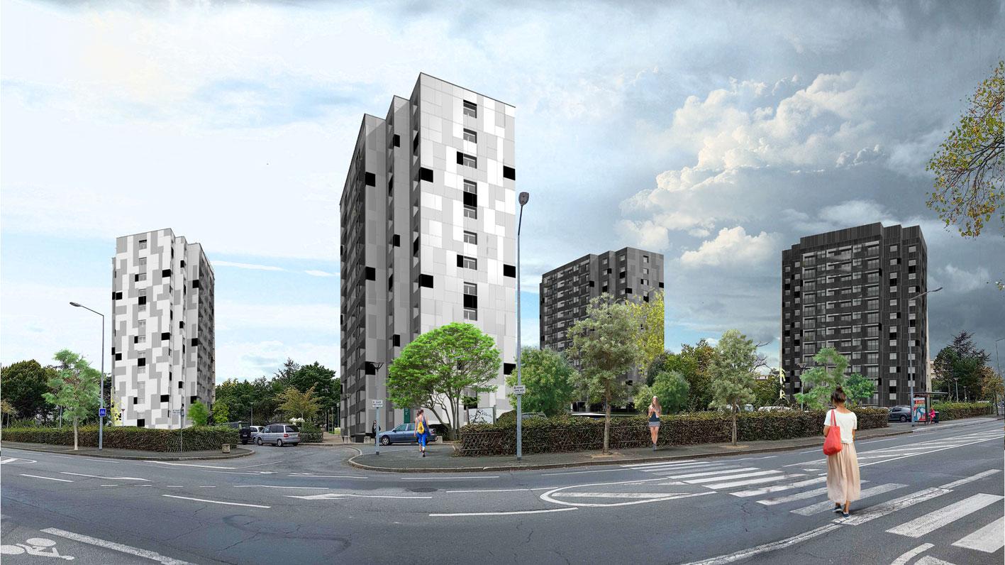 Perspective de la future résidence Hélios