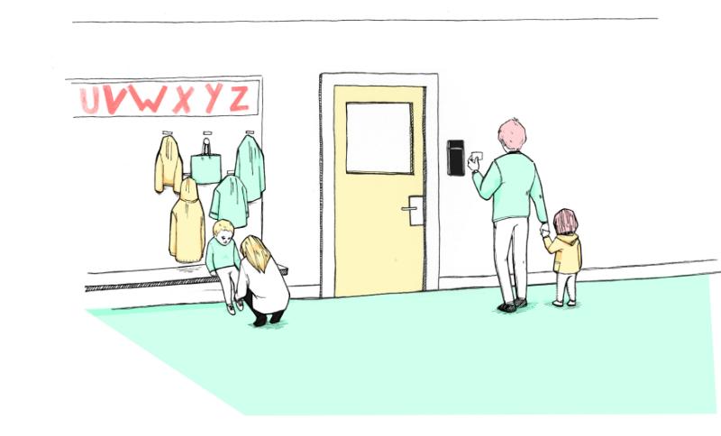 Gestão de Acessos Infantários