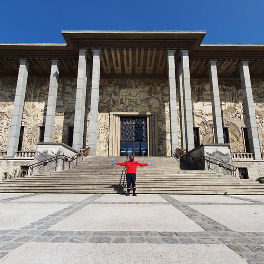 Joseph devant le Palais