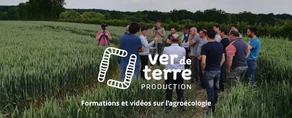 Ver de terre production, formations à l'agroécologie