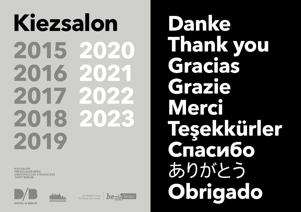 Kiezsalon artists 2020