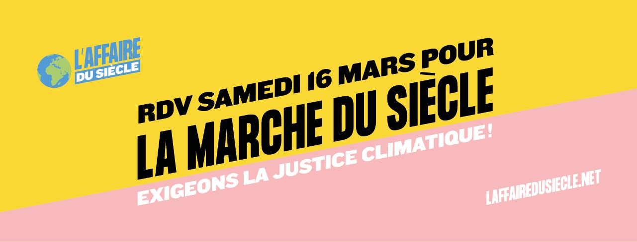RDV Samedi 16 mars pour la marche du siècle