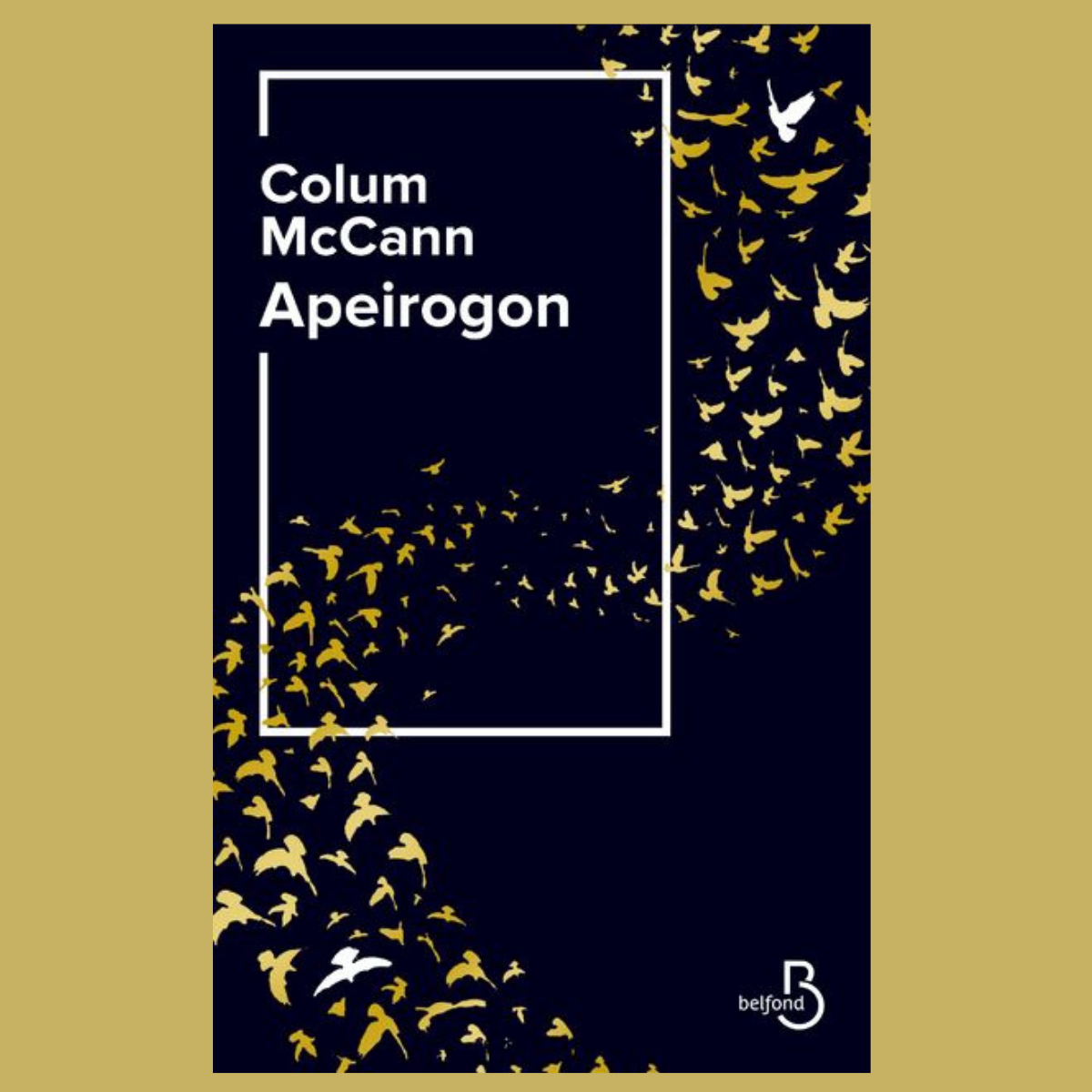 Apeirogon - Colum McCann (éd. Belfond)