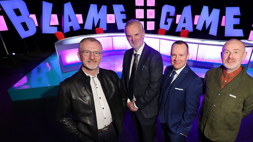 The Blame Game cast