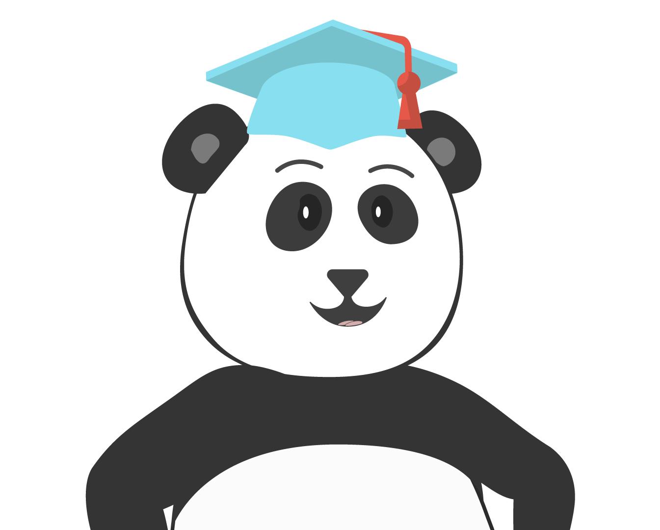 Pete the Panda Waving