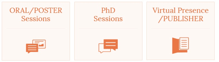 ORAL / POSTER / PHD SESSIONS / PUBLISHER