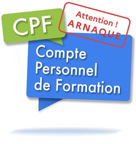 Attention aux escroqueries au Compte Personnel Formation (CPF) !