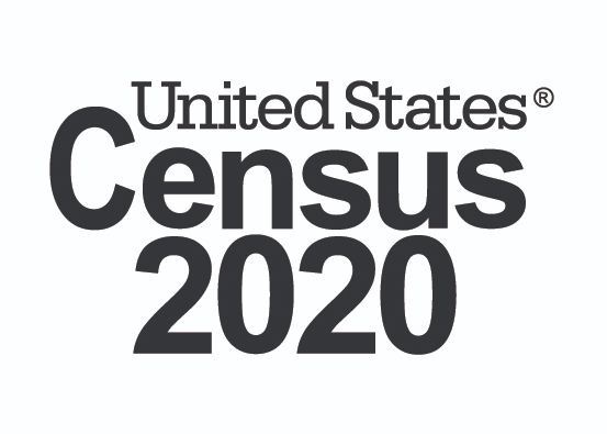 United States Census 2020 logo® is a Federally registered trademark of the U.S. Census Bureau, U.S. Department of Commerce.