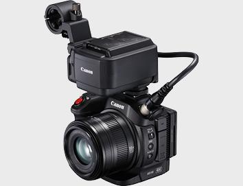 Canon XC15 avec module XLR