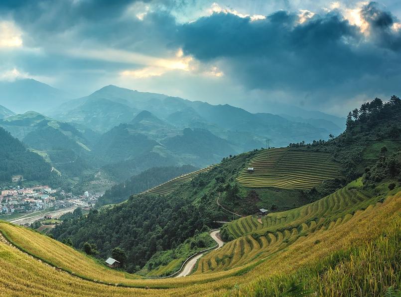 Paysage de Chine (Pixabay - sasint)
