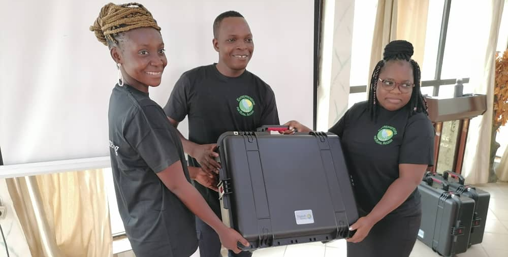 Young entrepreneurs in Benin get hands-on experience with smart technology