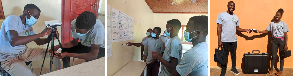 Young entrepreneurs in Malawi master smart technology